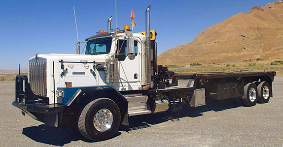 Flat Bed With Gin Poles For Sale | Autos Post