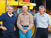 The Cooke brothers turned to Ritchie Brothers to sell their farm equipment when local dealers were not an option.