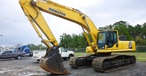 Featured heavy equipment auctions - week of November 9, 2015