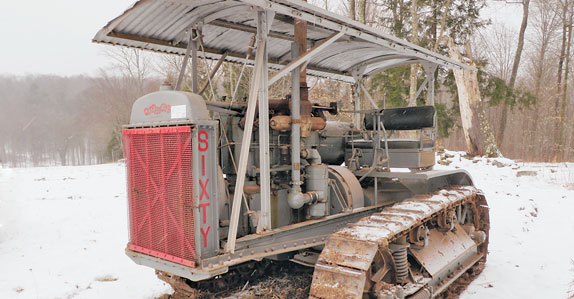 Collectible antique tractors featured in Williamsport, PA